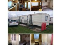 2018 bookings being taken 3 bedroom caravan in Ingoldmells Skegness on Coral beach site