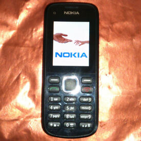 NOKIA C1-02 MOBILE PHONE on EE NETWORK in VGC = VERY GOOD CONDITION + FREE SIM CARD!