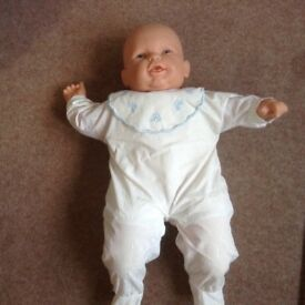 Large battery operated baby doll