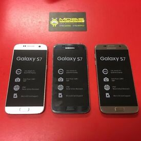SAMSUNG GALAXY S7 32GB SIMFREE GRADE A LIKE NEW COMES WIT CHARGER AND THREE MONTHS WARRANTY