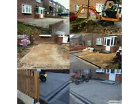 Soft and hard landscaping- Paving-Deckings-Raised Planters-Fencing-Gravel Paths-Sheds