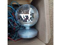 House Clearance - Rotating Disco Ball