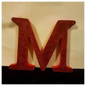 Personalised mdf freestanding letters
