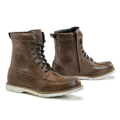 Forma Naxos motorcycle boots, mens, brown, waterproof street urban riding city