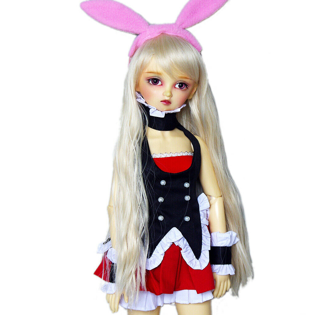 Saber Cosplay Costume Suitable For 1 Clothing PF 6 SD DOD AOD BJD Doll