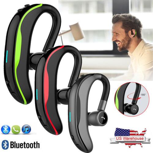 Wireless Bluetooth Headset Noise Cancelling Earpiece Earphon