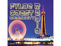 Radio Presenter / DJ -Broadcaster ( x 3 ) - for Fylde Coast Radio