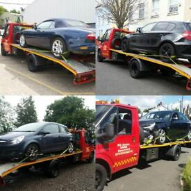 24hrs Breakdown Recovery&Transportation Services jump start tyre change etc
