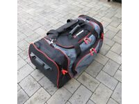 Two (2) Resenbauer FIRE FIGHTERS ROLLING GEAR KIT/LUGGAGE BAG - Excellent/Good Condition