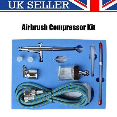 Action Air Brush 0.2-0.5mm Airbrush Kit Compressor Paint Spray Gun Art Nail Art