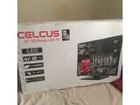 """New Celcus 32""""led Hd HDMI Tv"""