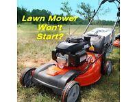 Lawn mower pit bike or mini moto WONT START?