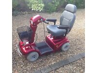 Mobility Scooter - Good as New - Red - 4wheel