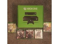 Xbox One 500gb console big bundle + 5 top games