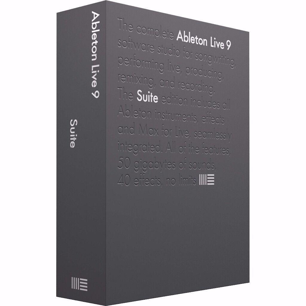 Ableton Live Suite 9 FOR Windows / Macbook