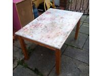 Childrens craft table ikea