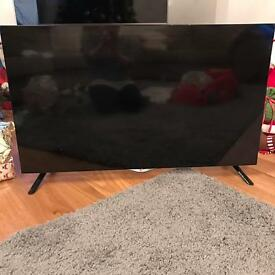 49ins LG 4K ultra HD Television damaged