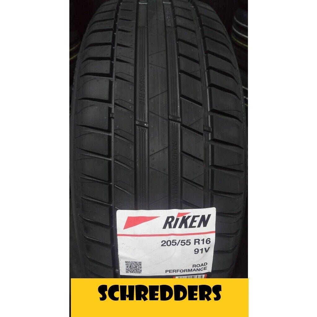 4x RIKEN Reifen 225/ 55 R16 99W XL Sommerreifen NEU vom MICHELIN -Konzern AKTION