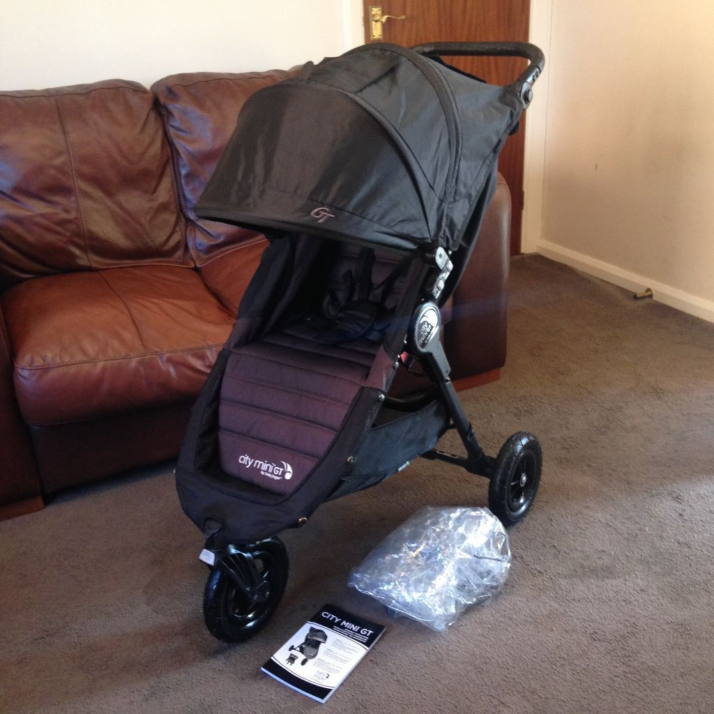 Can Post New Logo Baby Jogger City Mini Gt Pushchair