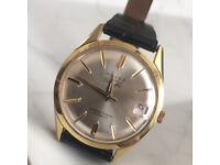 Vintage Reves gents superautomatic 25 jewel ultra flat incabloc watch 1960s