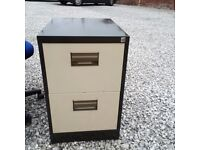 Bargain small 2 drawer filing cabinet £19.00 free local delivery