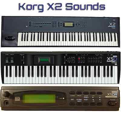 Most Sounds: Korg X2, X3, X3R, X5, X5D, X5DR