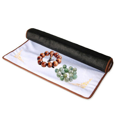 S Velvet Jewelry Counter Pad Mat Necklace Bracelet Display Cloth