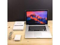 " MACBOOK PRO 15"" 3.6GHz i7 QUAD CORE,4-16gb RAM,500-1000GB HD,OFFICE 2016, ADOBE CS6"