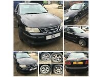 Saab 9-3 Linear Spt A flow TID Diesel 2005 1.9 Black (Door) all car parts available
