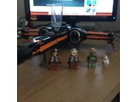 Lego Star Wars Poe's X Wing