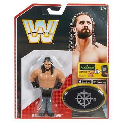 Seth Rollins Wwe Mattel Retro Series 3 Brand New Action Figure   Mint Packaging