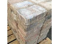 129 Block paving bricks