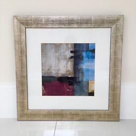 Abstract Art - Framed - 69 x 69 cm