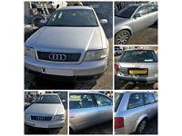 Audi A6 T Quattro Estate 2000 1.8 Petrol Manual Silver (Front Bumper) All Parts Available