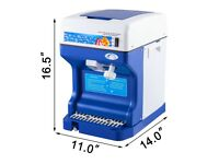 New Electric Commercial Snow Cone Machine Ice Maker Ice Shaver Ice Crusher