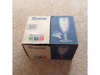 Champagne glasses X 24 - new