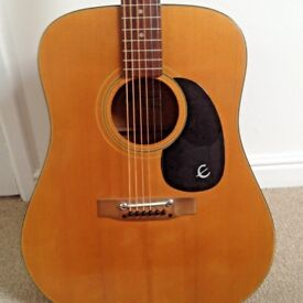 Epiphone FT 140 Acoustic Guitar Made In Japan Kalamazoo