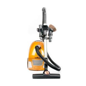 Sunburst Canister Vacuum 10 Amp Hepa And Post Filter Aluminum Telescopic Wand With On Board Tools Floor Tool 2 Year Warr