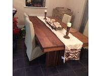 Large dining table and matching sideboard