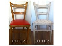 French Chair- Shabby Chic