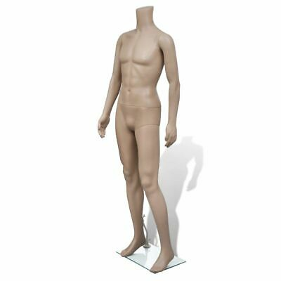 Adult Male Full Size Man Headless Store Mannequin W Stand Display Clothes
