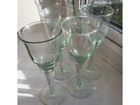set of 6 Croft recycled wine glasses from John Lewis. New, perfect condition.