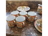 Ornate teaset