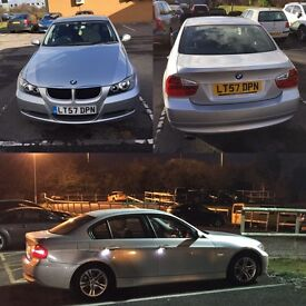 BMW 320d SE E90 3 Series 4dr Silver 2007 Manual FSH (Both reluctor rings replaced)