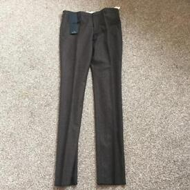 Paul Smith Brand New Smart Light Brown Trousers - Mens