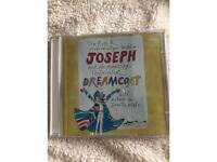 Joseph & The Amazing Technicolor Dreamcoat by Tim Rice & Andrew Lloyd Webber CD.