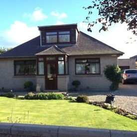Detached immaculate spacious 3 bedroom bungalow for rent in Peterhead
