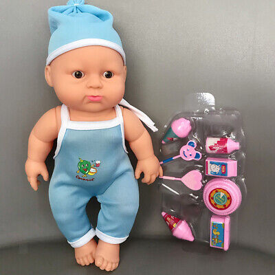 Vinyl Silicone Reborn Doll Realistic Baby Soft Accessories Toys Gifts Skin
