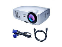 BRAND NEW,,WIMIUS T4 3200 Lumens 1280*800 HD LED Video Projector