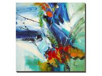 Painting Canvas Wall Art Large Abstract Oil Paintings on Canvas -WESIATOR